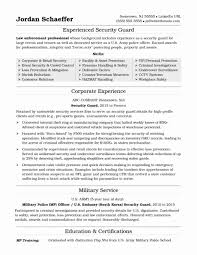 Resume For Police Officer 10 11 Resumes For Police Officers Jadegardenwi Com