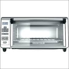fascinating black and decker extra wide toaster oven 8 slice extra wide convection toaster oven includes