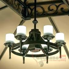 battery operated outdoor chandeliers for gazebos powered mini