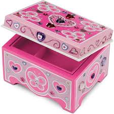Melissa And Doug Decorate Your Own Jewelry Box Melissa Doug DecorateYourOwn Wooden Jewelry Box Craft Kit 5