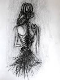 anorexic face drawing. Contemporary Drawing Sketch Black White Anorexia Nervosa Skinny Thin Inside Anorexic Face Drawing 2