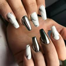 Nail extension shapes ~ Beautify themselves with sweet nails