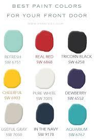 best paint for front doorBest Front Door Paint Colors