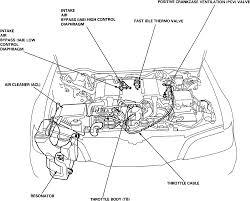 2000 honda civic engine diagram large size