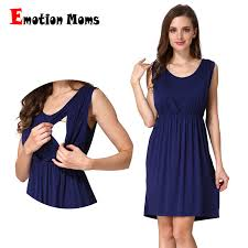 Emotion Moms Summer <b>maternity Clothes</b> Breastfeeding dress ...