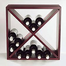 cube wine rack. Brilliant Rack Wine Enthusiast 24 Bottle Compact Cellar Cube Rack Mahogany In R