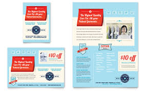 Services Flyer Laundry Services Flyer Ad Template Word Publisher