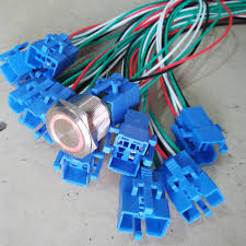 popular wiring 12v switch buy cheap wiring 12v switch lots from Wiring 12vdc Switches Illuminated 25mm blue led stainless steel 12v ring illuminated momentary 1no1nc metal push button switch 30cm LED Illuminated Switches