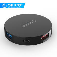 Buy <b>ORICO HA4U Super Speed</b> 4 Port USB HUB 3.0 Portable OTG ...