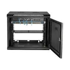 9u wall mount server rack cabinet
