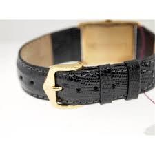 bueche girod mens 14k gold watch diamonds