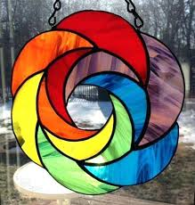 stained glass suncatchers exotic stained glass patterns beginners spiral shape a stained glass makit bakit stained stained glass suncatchers