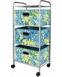 office trolley cart. Bintopia Home Office 3-Drawer Trolley Cart, Blue/Green Office Trolley Cart T