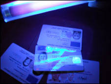 Use England Cumbria Id News Fake Card Light On Bbc Uk Shone