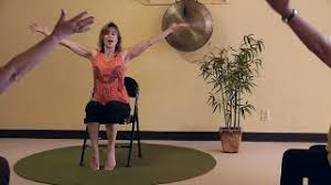"""""""Listen"""" Chair Yoga Dancing with music by Bob Seger - led by Sherry Zak"""