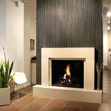 glass tile fireplace design ideas