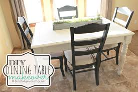 Kitchen Table Makeover Dining Room Table How We Built A Diy Dining Room Table From Free