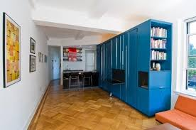 A Custom Space Saving Solution Designed For A Small New York Space Saving Tiny Apartment New York