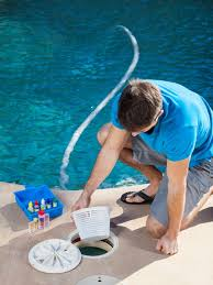 The following services are included with regular pool cleaning and  maintenance: