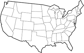 blank states map05 blank states map dr odd on map of united states with time zones printable