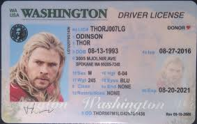 License Ids Best Drivers Fake Id Washington wa Old Idviking - Scannable