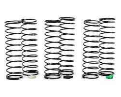 Associated 12mm Spring Chart Team Associated 12mm Big Bore Rear Shock Spring Kit 3 Soft Asc91344 Cars Trucks