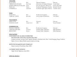 Download Dance Resume Template Haadyaooverbayresort Com