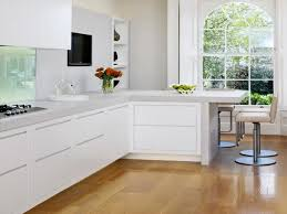 Small Kitchen Modern Kitchen L Shaped Kitchen Designs With Breakfast Bar As Modern
