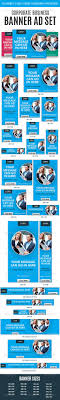 best images about banner ad designs banner corporate business web banner ad set template psd buy and
