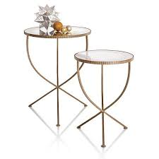 jules small accent table in coffee