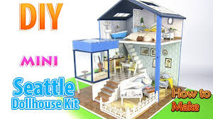 diy miniature dollhouse kit dollhouse