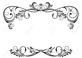 vintage frame tattoo designs. 1300x914 Floral Vector Border. Good Black And White Red Borders Vintage Frame Tattoo Designs