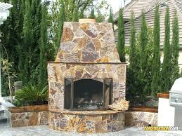 outdoor chimney outdoor fireplace with three rivers flagstone decorative outdoor chimney caps