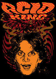 Acid King Ltd Ed Psychedelic Ricky Ak Fall Euro Tour Double