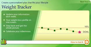 Online Weight Loss Charts Fr Weightwatchers Ca Online Weight Loss Weight Tracker