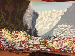 Рязанская художница Каждый может научиться рисованию за несколько  Александра ненавязчиво направляла наши действия учила накладывать слои смешивать цвета и управляться с кистью Сначала казалось что из этого ничего не