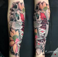 тату карпы 37 фото татуировок на разных частях тела