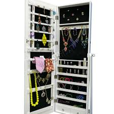Lockable Bedroom Furniture Foxhunter Armoire Jewellery Cabinet Makeup Storage Lockable