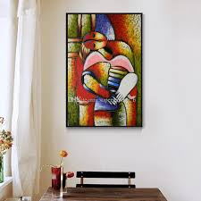 2018 famous dream by picasso pure handpainted modern abstract art oil painting on high quality canvas home wall decor size can customized from  on modern abstract art oil painting wall decor canvas with 2018 famous dream by picasso pure handpainted modern abstract art