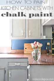 you won t believe the transformation that chalk paint made on this kitchen