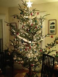 In My Life Advent Calendar Of Christmas Memories  Dec 5 Outdoor Old Style Christmas Tree Lights