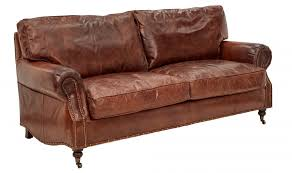 vintage leather couch. Vintage Leather Kent Sofa 3 Seater Couch