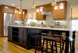 From Dark To Dreamy A Modest Kitchen Makeover With Bold Island
