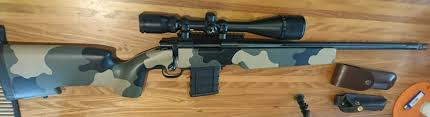 Light 10 22 Stock Howa 1500 In 22 250 With Bell Carlson Light Tactical Stock