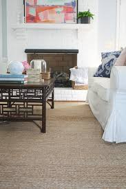 living room jute rug