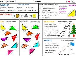 gcse foundation pythagoras and trigonometry unit 11 lessons by finbutler999 teaching resources tes
