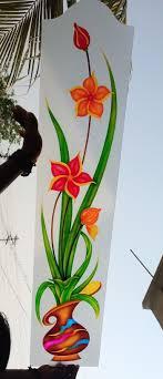 Flower Design Glass Door Pin By Sakthikumar Selvaraj On Glass Art A V M Glass