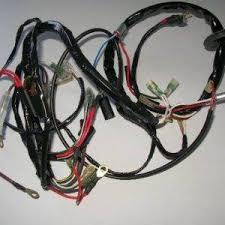 lucas wiring harness bsa m20 21 and b31 33 1946 1955 de groot bsa lucas wiring harness bsa b25 44 1968 1970