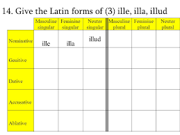 Review To Begin Latin 2 Cp Nouns And Declensions A Noun Is