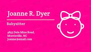 Babysitter Flyer Maker Online Flyer Maker For A Babysitter With Pinata Background 336e